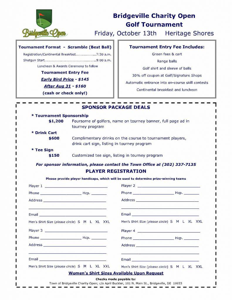 Flyer Registration 2017 » Town of Bridgeville